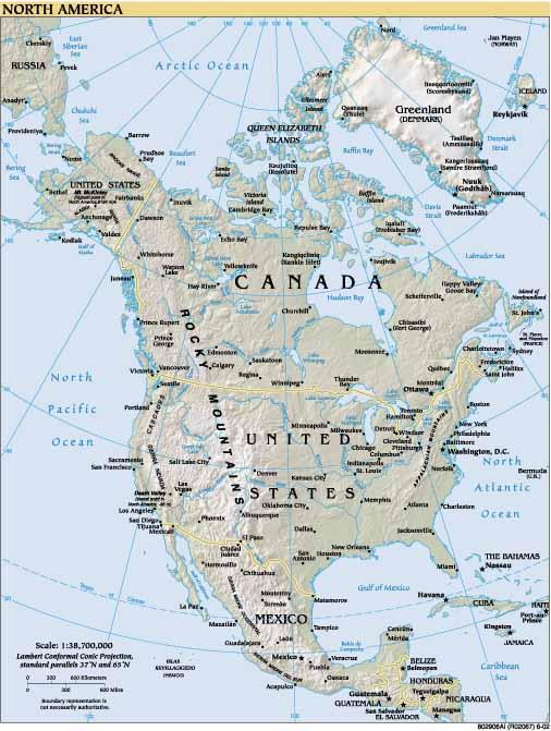 North America Maps