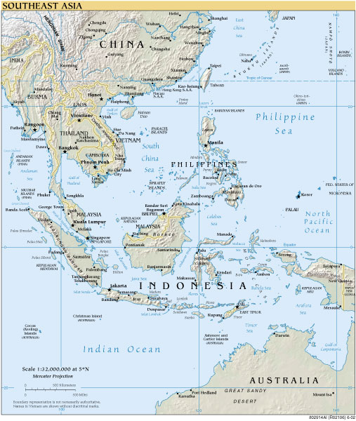 south east asia map. Forensic Services is based in Kuala Lumpur, Malaysia,